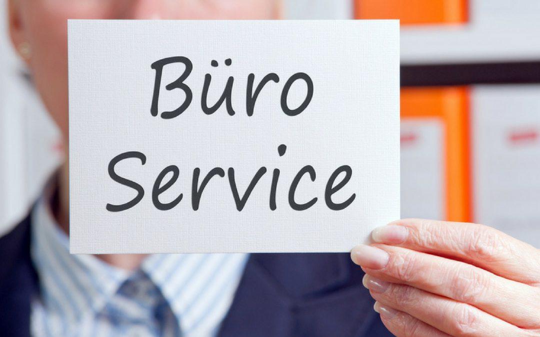 Wie funktioniert ein Büroservice?